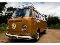 1972 VW Campervan PRICE REDUCED