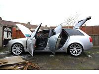 Left hand drive Audi A6 quattro (engine fault)
