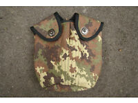 NEW - RARE - Italian Army Issue Canteen / Water Bottle Cover (genuine issue)
