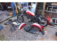 Lifan King 125 2014 unfinist project all the parts are there needsputing back to gether