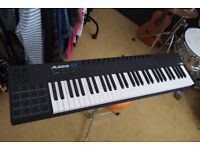 Alesis VI61 MIDI Controller Keyboard Piano Sample Pad DJ EXCELLENT Condition USB