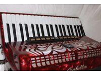 Galotta 120 bass piano accordion £500 or MAKE A SENSIBLE OFFER. Beautiful Condition