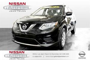 2015 Nissan Rogue S AWD S TRACTION INTEGRAL NOIR SEULEMENT 16600