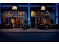 Floor staff required for busy restaurant & cocktail bar in Twickenham
