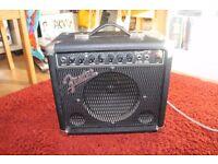FENDER FRONTMAN REVERB AMP PR241 38 W £30.00