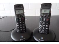 BT Twin handset cordless phone for sale.