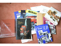 Camera collectors' books - some rare. Priced separately.