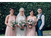 2 x Dessy Rose Bridesmaid Dresses Worn August 2017