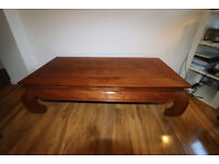 wooden bench/ table