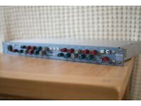 Neve 8801 channel strip with full dynamics processors
