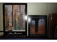 Block-board prints and picture frames
