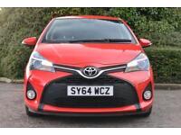 Toyota Yaris VVT-I SPORT (red) 2014-11-04