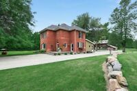 Immaculate farm house w/ 10 acres and barn