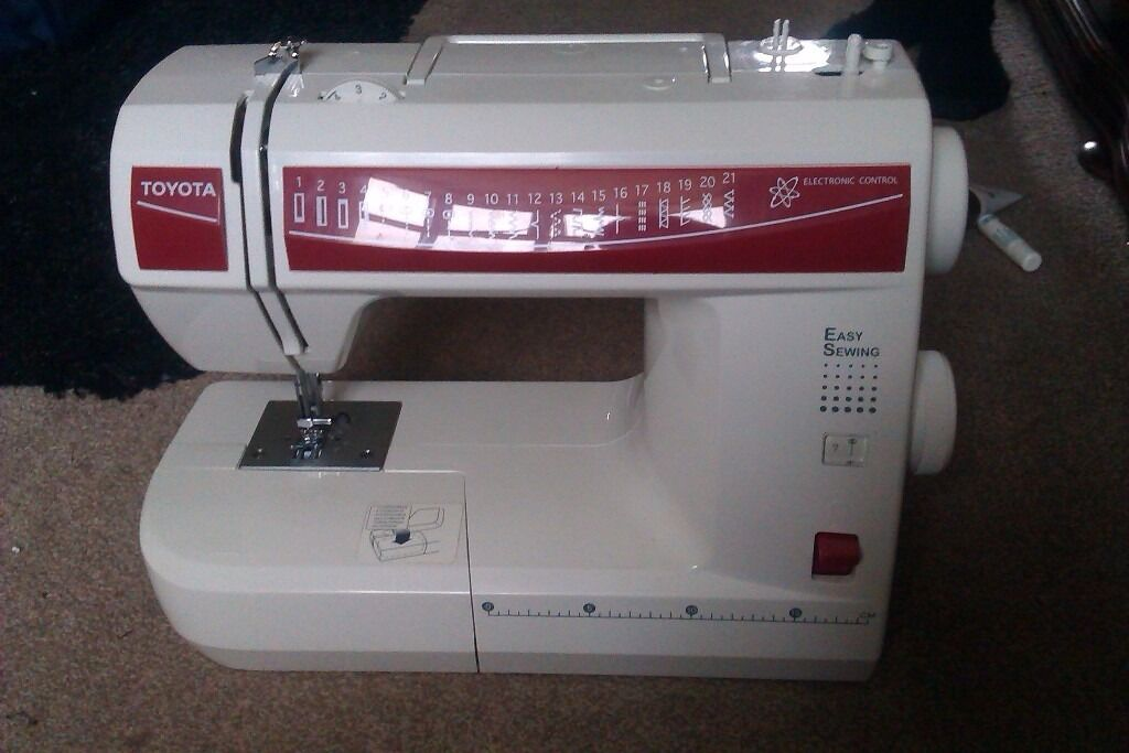 Toyota ES40 Sewing Machine In Knaresborough North Yorkshire Classy Toyota Easy Sewing Machine Manual