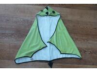 Cuddledry toddler bath towel – Cuddle roar dino/dragon design