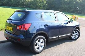 NISSAN QASHQAI ACENTA**63200 MILES**FULL SERVICE HISTORY**12 MONTH MOT**2 OWNERS**HPI CLEAR