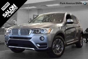 2015 BMW X3 xDrive28i // CAMERA DE RECUL + 19''