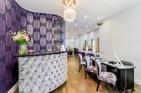 Nail Technician / Beautician / Beauty Therapist required - 5 mins walk from Oxford Circus