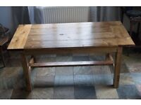 Handmade Farmhouse Dining Table