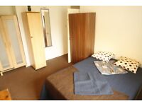 DOUBLE ROOM, LOTS OF LIGHT, NEXT TO SWISS COTTAGE STATION