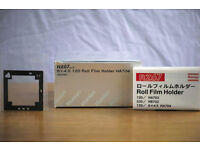 Mamiya RZ 67 Pro II 6x4.5 Back HA 704; film holder; Boxed and Excellent condition