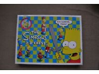 Simpsons chess 3D set 1997 French edition