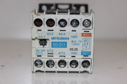 Mitsubishi Electric SD-Q11 Magnetic Contactor 24VDC