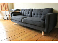 Dwell Navy Sofa