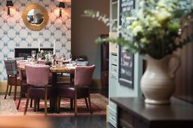 Bar Staff & Waiting Staff wanted - AA Rosette Gastro pub and restaurant Chelsea