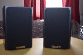 Pair of Tannoy mercury MrB EYE Speakers