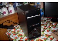 HP Pavilion PC AMD A8-5600K 3.6GHz Quad Core 6GB RAM 500GB Windows 10 Radeon Graphics Gaming HDMI