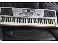 BURSWOOD 61KYES KEYBOARD ADAPTER/RECORD AND PLAYCAN BESEEN WORKING