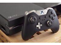 MICROSOFT XBOX ONE ~ ELITE 1TB SSHD EDITION + CONTROLLER ~ HYBRID CONSOLE ~ LIKE NEW