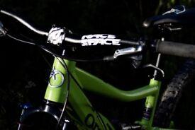 Orange Five S Full Suspension Mountain Bike - Small Frame (REDUCED PRICE)