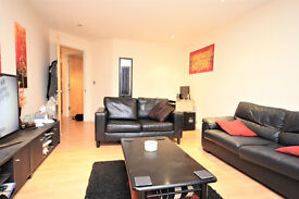 Modern one bedroom apartment near Surrey Quays Shopping Centre and Canada Water underground station.