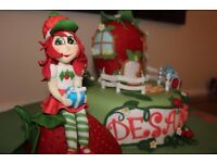 FRESH HOME BAKED PERSONALIZED BIRTHDAY/ OCCASION CAKES WITH LIFE-LIKE FIGURINES OF YOUR CHOICE .....