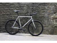GOKU CYCLES Steel Frame Single speed road bike TRACK bike fixed gear fixie racing bike um