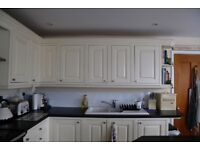 Beautiful country shaker style kitchen including rangemaster classic
