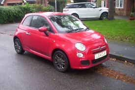 fiat 500 1.2 s sport 2014 19,000miles only £5750!only! cheapest in there!