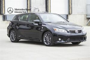 2013 Lexus CT 200h F-Sport Package w/Leather
