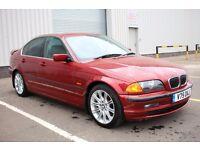 Original condition E46 BMW 3 Series 323i(325) SE 4dr,59K miles,Full leather interior