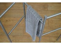 IKEA GRUNDTAL Towel stand, stainless steel