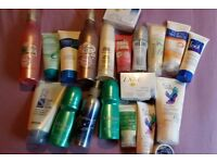 Various body products. Most never used. A couple only tried and not liked. Grab a bargain!
