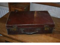 WW2 Vintage Evacuation Suitcase, Retail shop display, School History project Child size