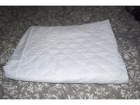 Dreams Double Bed Quilted Waterproof mattress protector. Anti Allergy. Unused
