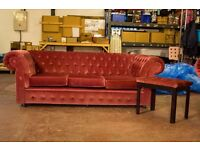 Genuine Chesterfield 3 seater sofa.