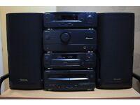 Technics CD HiFi Stack Stereo System - SD-CH510 (Black)