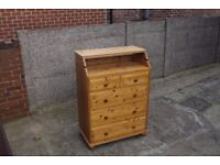 Pine Chest Of Drawers/ Changing Table/Bookcase