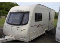 Avondale Avocet Cris-Reg 2008 2 Berth Caravan + Full Awning + Motor Movers