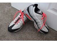 Mens Nike Air MAX 95 Pink & Grey UK Size 10 Limited Edition